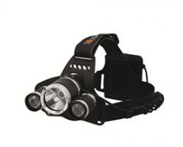 Solight LED èelová svítilna SUPER POWER, 900lm, 3x Cree LED, 4x AA, WH23