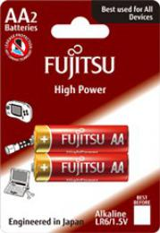 Fujitsu High Power alkalická baterie LR06/AA, blistr 2ks, FU-LR06HP-2B