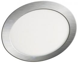 LED panel vestavný LED30 VEGA-R Matt chrome 6W WW Greenlux GXDW075