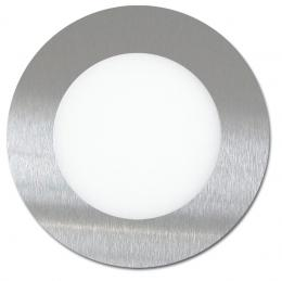 SMD panel kruh 12cm, 6W, 2700K, IP20, 420Lm, LED-WSL-6W/27/CHR