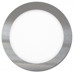 SMD panel kruh 22,5cm, 18W, 2700K,IP20,1530Lm, LED-WSL-18W/27/CHR