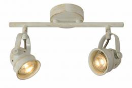 LUCIDE 77974/10/21, CIGAL Spot LED 2xGU10/5W 350LM 2700K Ant
