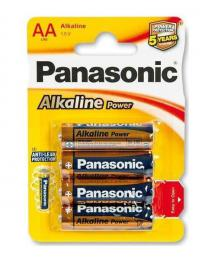 Panasonic Alkaline Power Bronze AA baterie, 4 ks blistr