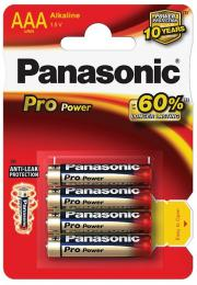 Panasonic Alkaline Pro Power Gold AAA LR03, 4 ks blistr