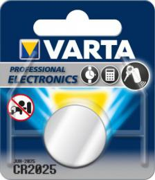 VARTA Professional CR2025 3V Lithium, 1 ks blistr