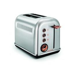 Morphy Richards topinkovaè Accents Rosegold Brushed 2S, MR-222017