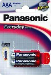 Panasonic LR03 AAA Everyday Power Alkaline 2 ks