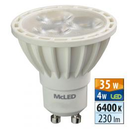McLED LED spot 4 W GU10 6400 K 36 °, ML-312.101.99.0