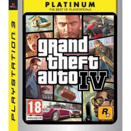 GTA 4 Platinum (Playstation 3)