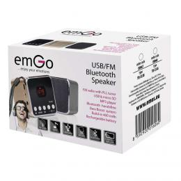 Soundbox reproduktor speaker Bluetooth EMOS TR533B, šedá, E0067