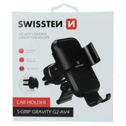 Gravity držák do ventilace auta Swissten S-GRIP G2-AV4