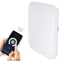 LED SMART WIFI stropní svìtlo, 28W, 1960lm, 3000-6000K, ètvercové, 38cm, Solight WO771