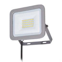 LED reflektor Home, 30W, 2250lm, 4000K, IP65, šedý, Solight WM-30W-M